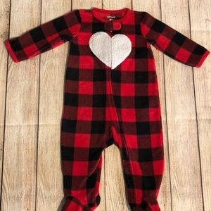 Carters Fleece Onsie